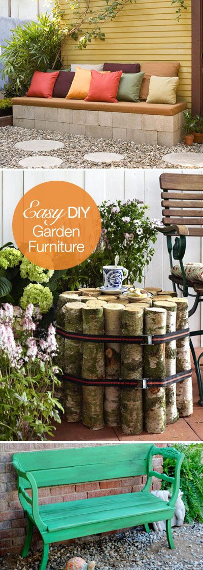 Easy DIY Outdoor Furniture Projects!