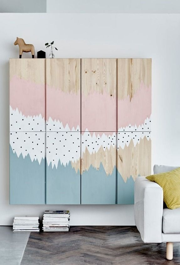 Ikea Art Hack Ideas For Large Blank Walls Apartment Therapy