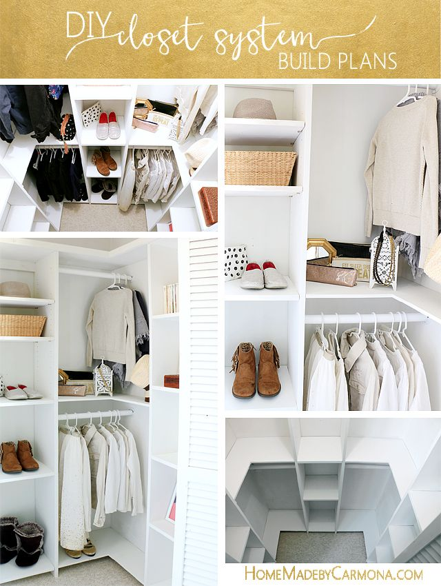 Diy Crafts Learn How To Build A Stunning Custom Closet