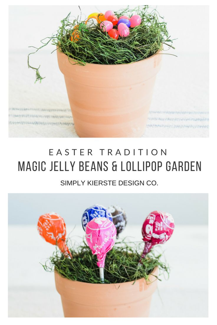 DIY Crafts : Magic Jelly Beans & Lollipop Garden | Easter Tradition ...