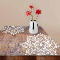 Mandala-stencil-wooden-table-mandla-decal