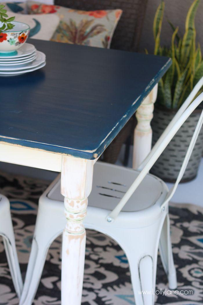 Pretty Modern Farmhouse Table... can't believe thi…