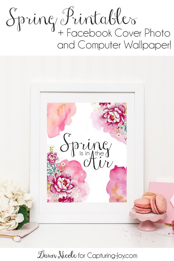 Diy Crafts Spring Printables Tech Pretties Two Free Spring