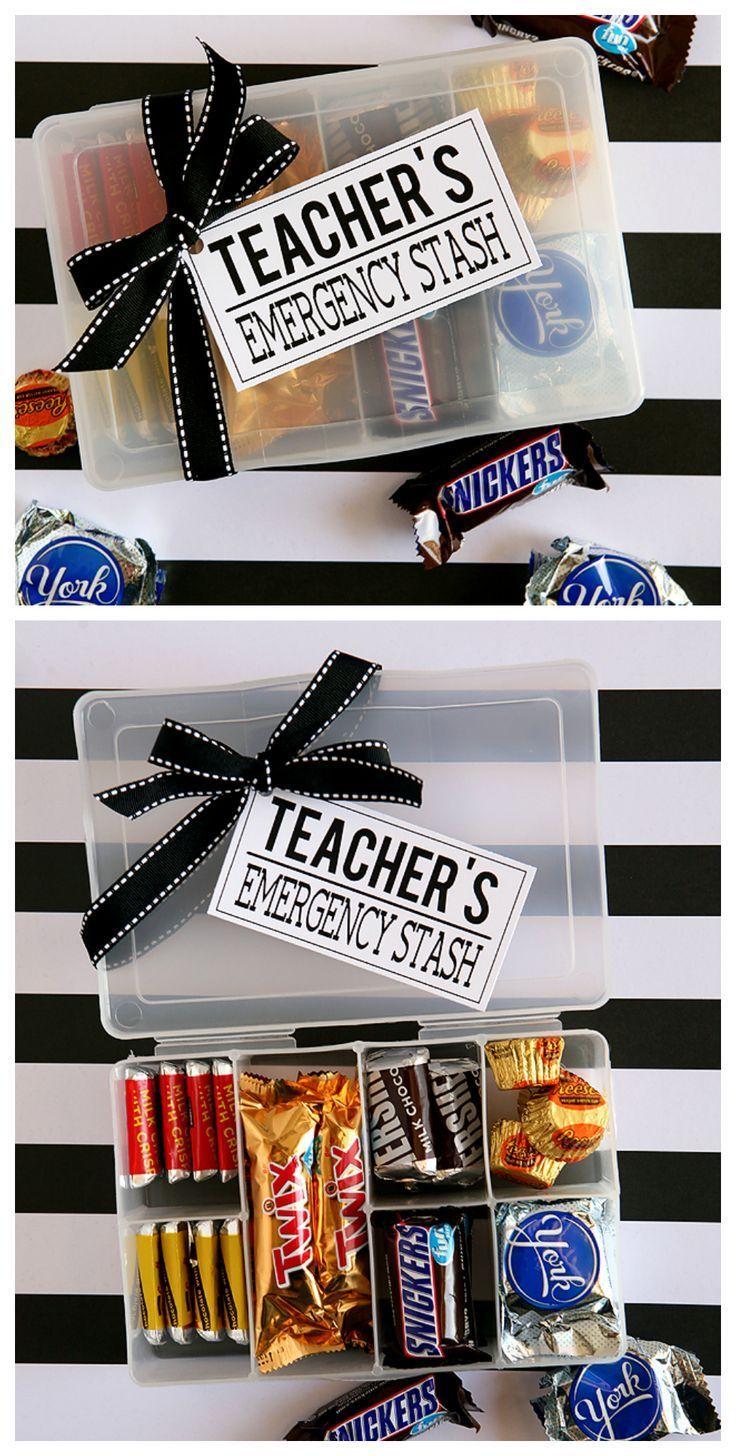Teachers Emergency Stash | Teacher Appreciation Gift Ideas