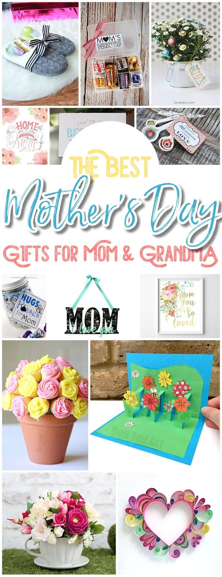 The BEST Easy DIY Mother's Day Gifts and Treats Ideas – Holiday Craft Activi...