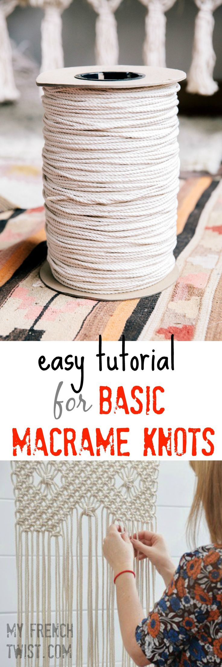 Want a macrame tutorial that is EASY? try this one at myfrenchtwist.com www.myfr...