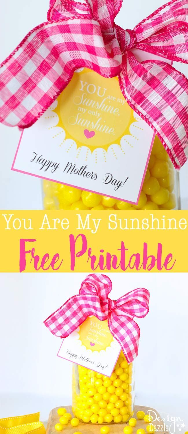 photograph regarding Free Printable Mothers Day Crafts called Do it yourself Crafts : Yourself Are My Sun My Simply just Sun - Satisfied