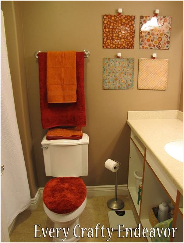 20 Cool #Bathroom Decor Ideas #diydecor #homedecor