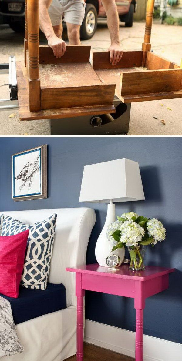22 Amazing Ways to Turn #Old #Furniture into New Beautiful Things Through #DIY #...