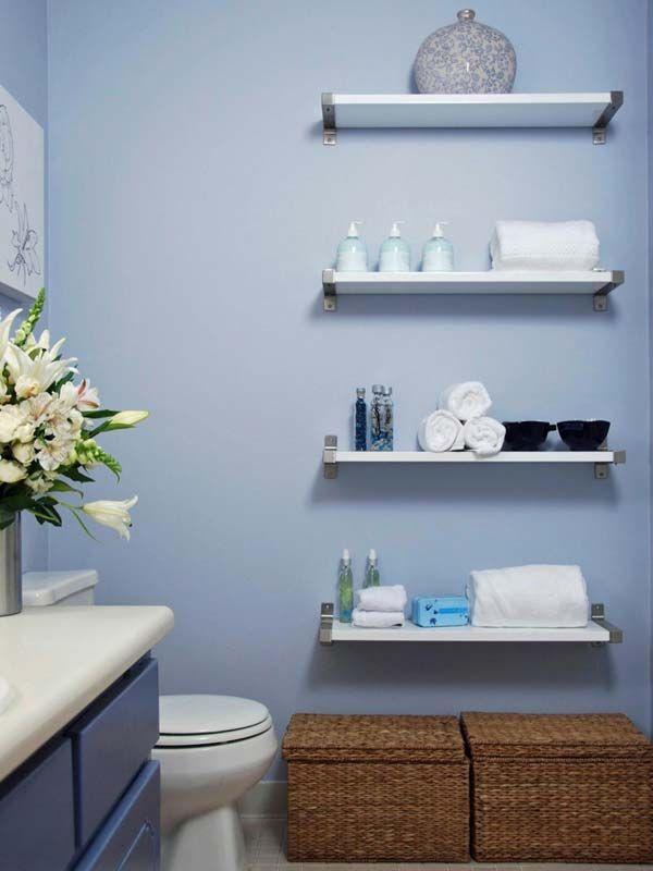 30 Amazingly #DIY Small #Bathroom #Storage #Hacks Help You Store More