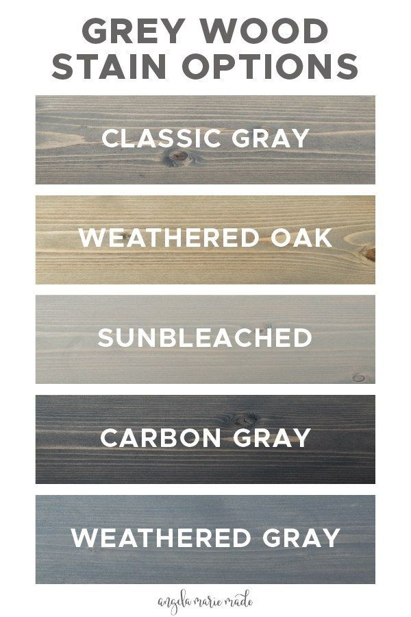 5 grey wood stain options that are affordable and easy to find at your local hom...