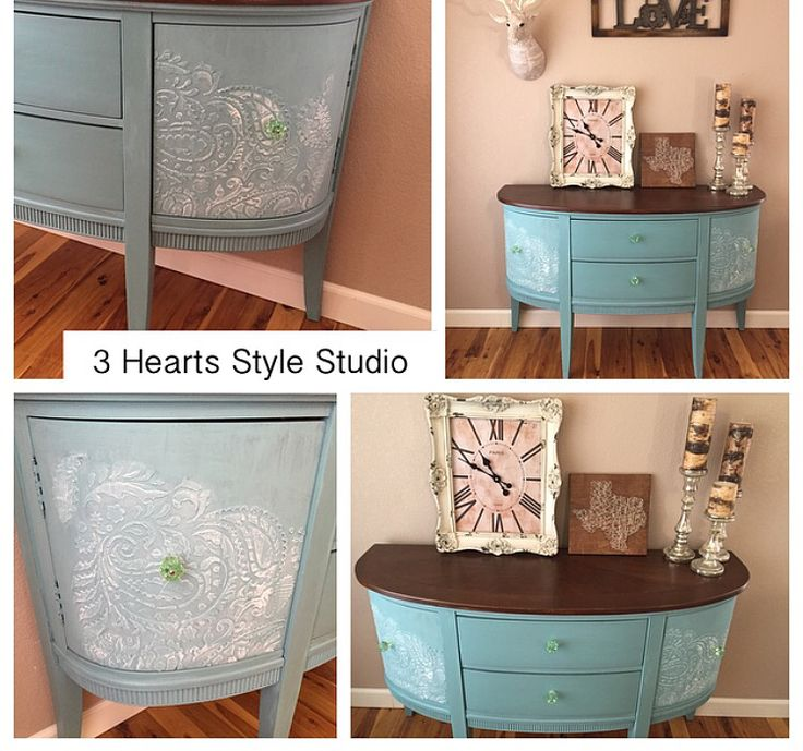 Buffet Painted With Annie Sloan Chalk
