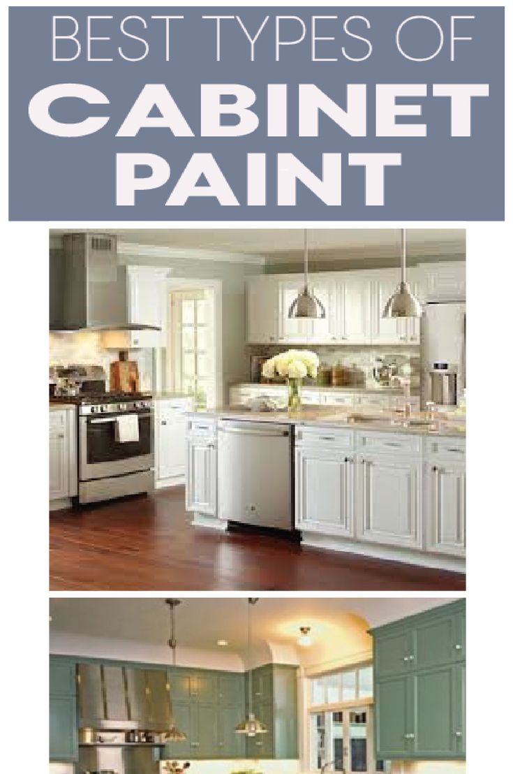 Best types of paint for your kitchen cabinets explained so you can pick the righ...