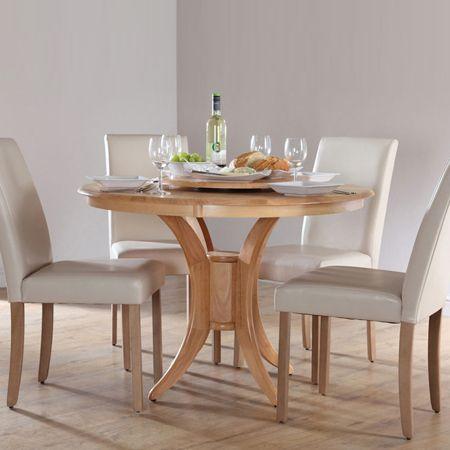 Diy wood pine round or circular dining table