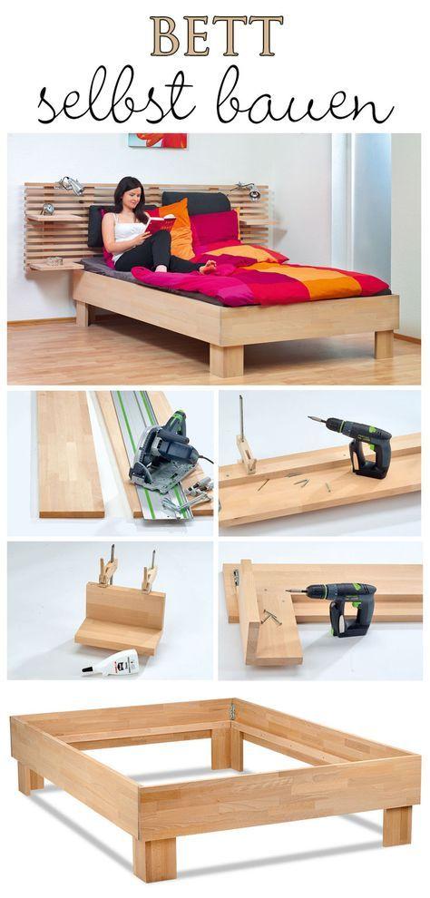 Ein Bett kaufen kann jeder – bau es dir selbst. Wir zeigen, wie du ein 140x200...