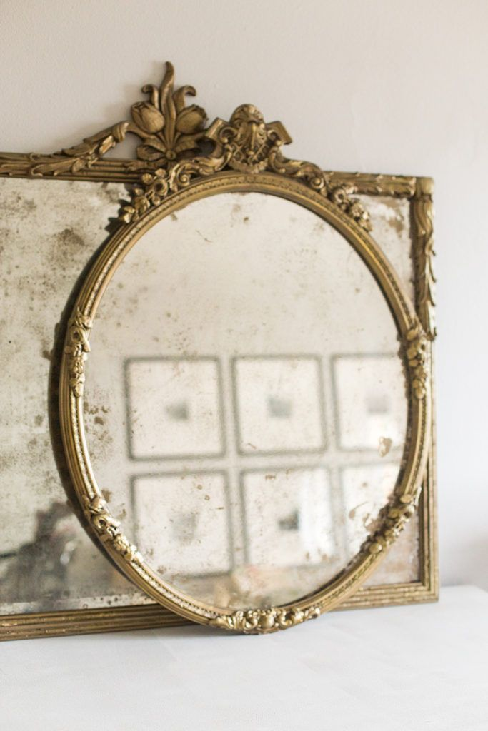 Learn how to DIY antique mirrors!
