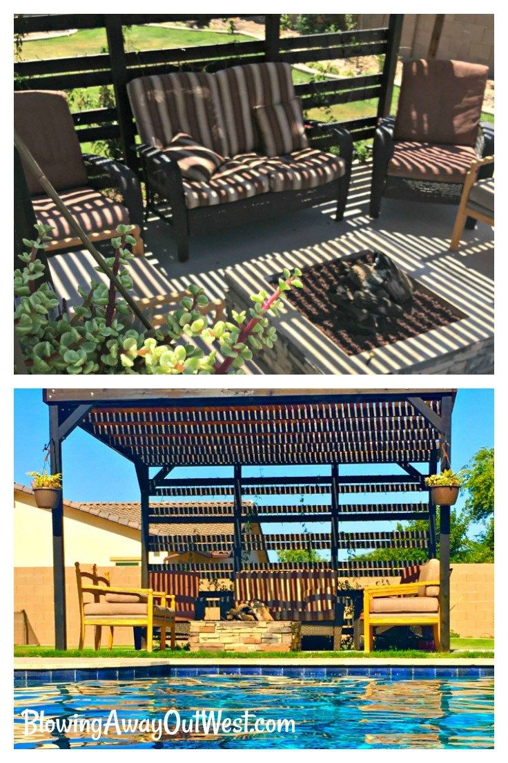 Pergola Tutorial - Build shade into your backyard
