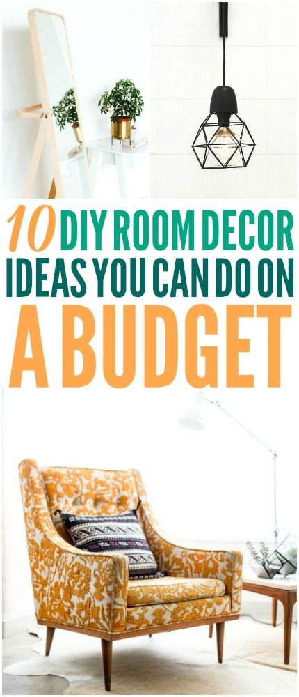 These DIY ideas are great! I'm happy I found these awesome budget decor ideas! N...