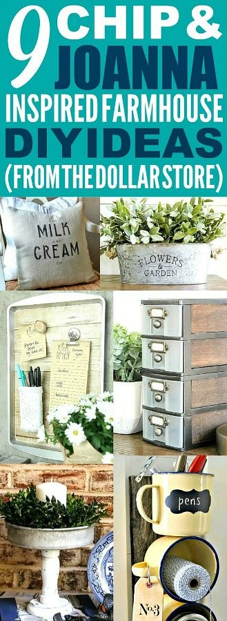 These dollar store farmhouse decor ideas are really good! I'm happy I found thes...