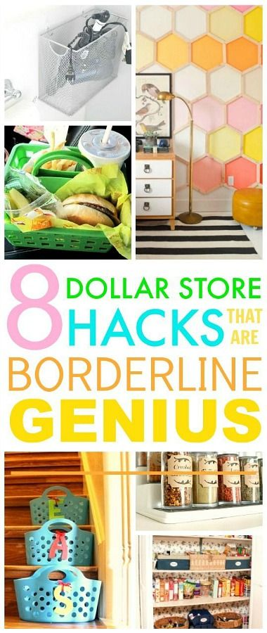 These dollar store hacks are really awesome! I'm happy I found these home hacks!...