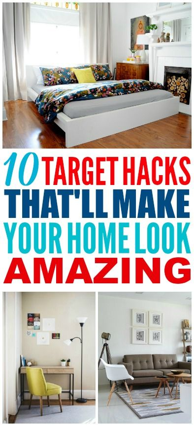 These target hacks are really easy! I'm glad I found these awesome home decor id...