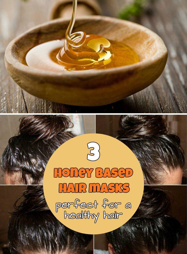 3 Honey Based Hair Masks