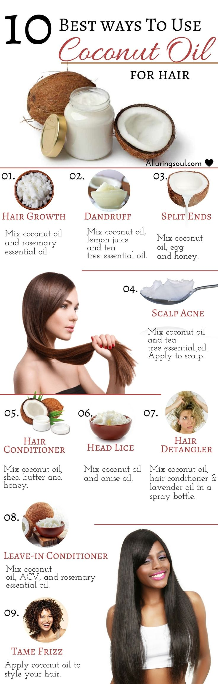 Coconut oil for hair is being used from centuries. It has the power to make your...