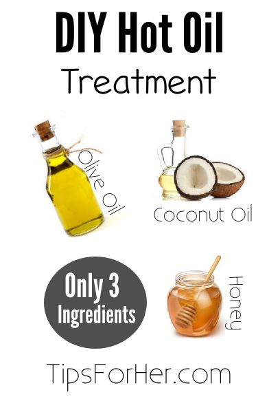 DIY Hot Oil Treatment - For soft, manageable, and No-Fly away hair!