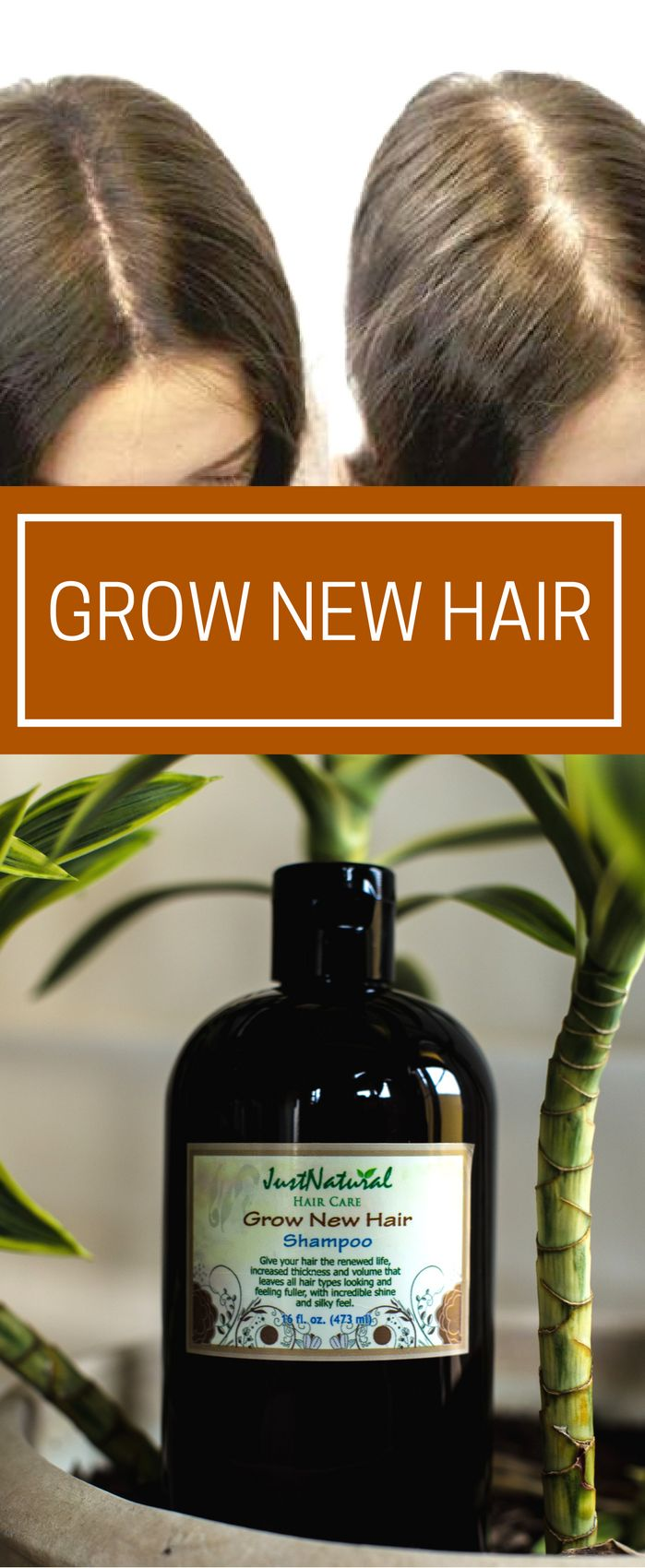 Grow New Hair Shampoo / I have used several products to help with my thinning ha...