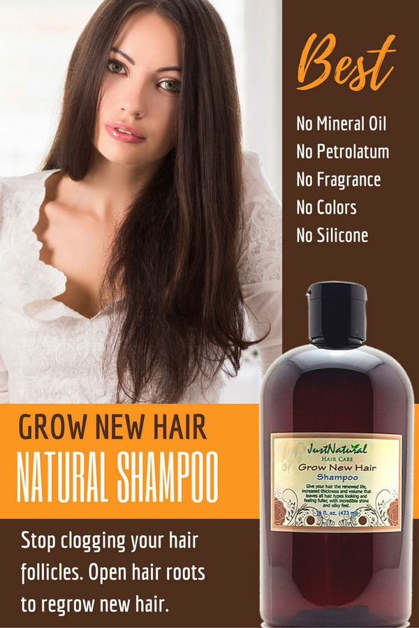 Grow New Hair Shampoo / I've only been using it a few weeks so I'm not s...