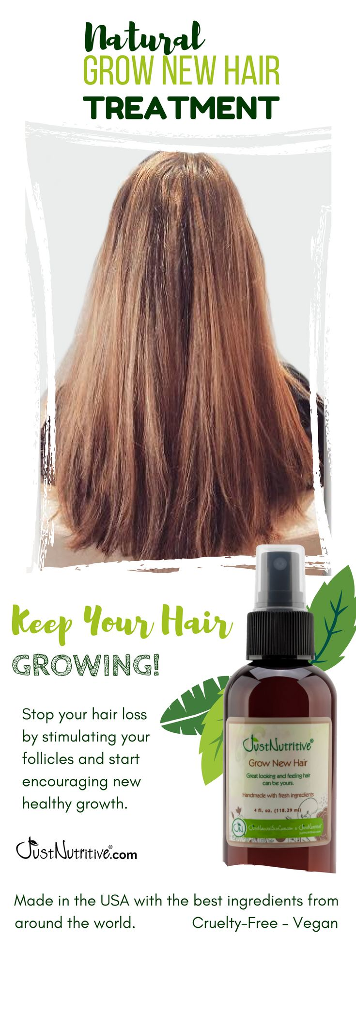 Not All Hair Loss is Permanent. www.justnutritive.com/copy-of-gnew-hair-therapy-...