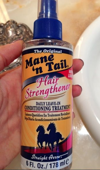 Spray onto ends of hair to grow hair to grow long. Not only will this make it gr...