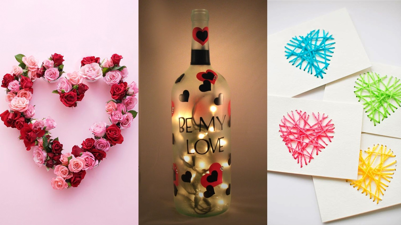 DIY Projects Video: 10 DIY Projects for Valentine\'s Day ...