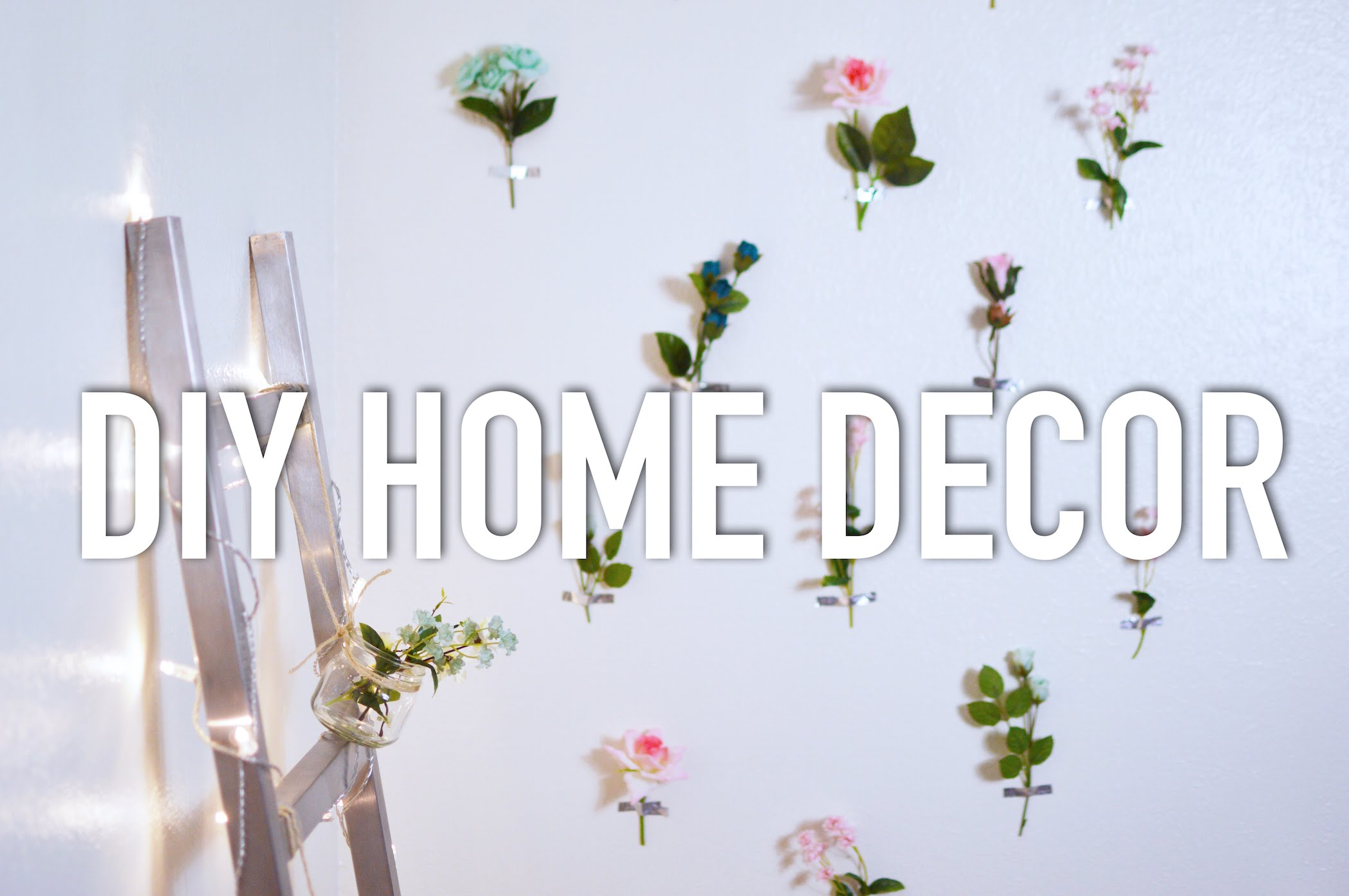 DIY Projects Video: Affordable DIY Home Decor  The Fashion