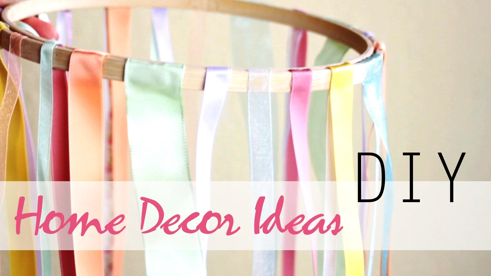 DIY Projects Video: DIY: 26 Easy Summer Home Decor Ideas - DIYall
