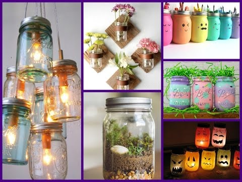 Diy Projects Video Diy 50 Best Mason Jar Crafts Ideas Diyall Net Home Of Diy Craft Ideas Inspiration Diy Projects Craft Ideas How To S For Home Decor With Videos