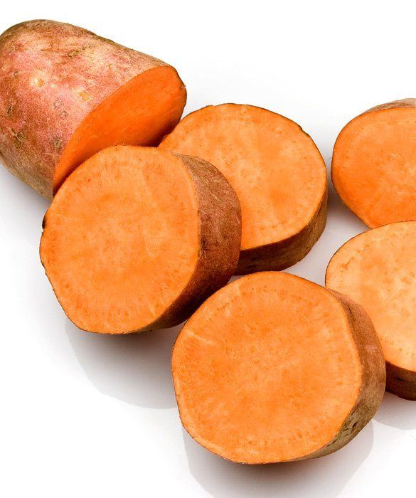 9 Foods for Great Skin - Ban Blemishes - yams