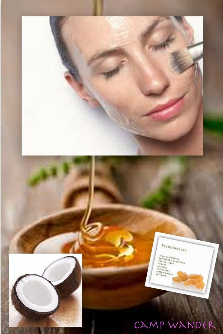 Anti-Aging Facial ~ Deeply Hydrate with Manuka Honey, Coconut Oil & Frankincense...
