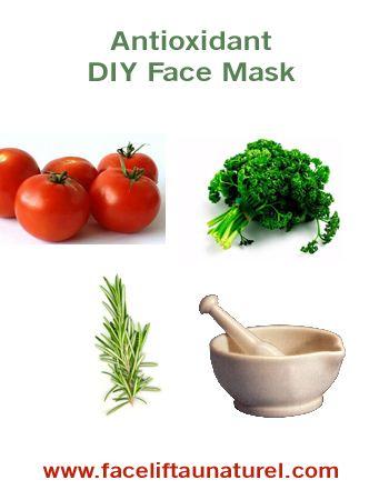 Antioxidant Face Mask Recipe • This simple, easy-to-make anti aging facial mas...