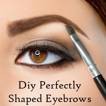DIY Perfectly Shaped Eyebrows