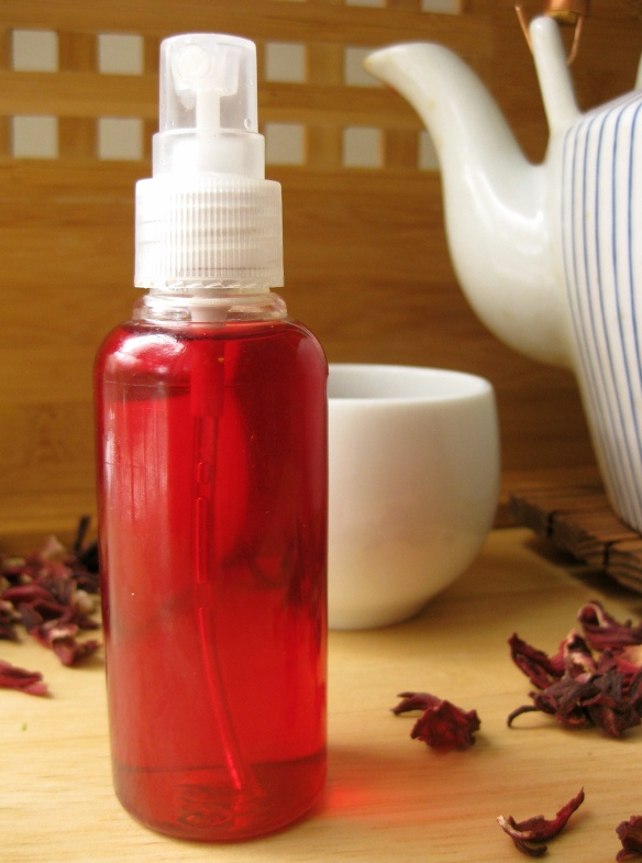 Enhance red hair with hibiscus