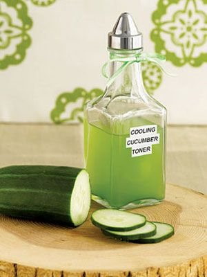 Extraordinary DIY Beauty Cooling Cucumber Toner. This is a great toner that is v...