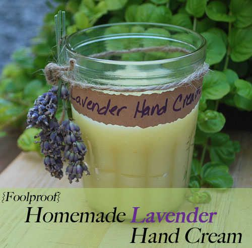 Extraordinary Homemade Lavender Hand Cream to Soften Dry and Rough Hands