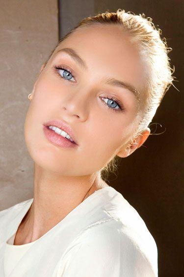 "Candice Swanepoel - Model Skincare Advice: ""My skin is sensitive so I use most..."