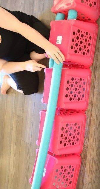 30 of the newest DIY space saving storage ideas to keep your home organized! Che...