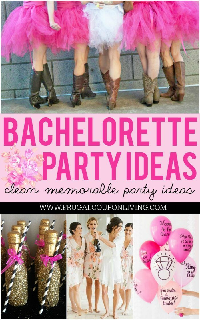 Some of the best Bachelorette Party Ideas and themes for a bride to be and her b...