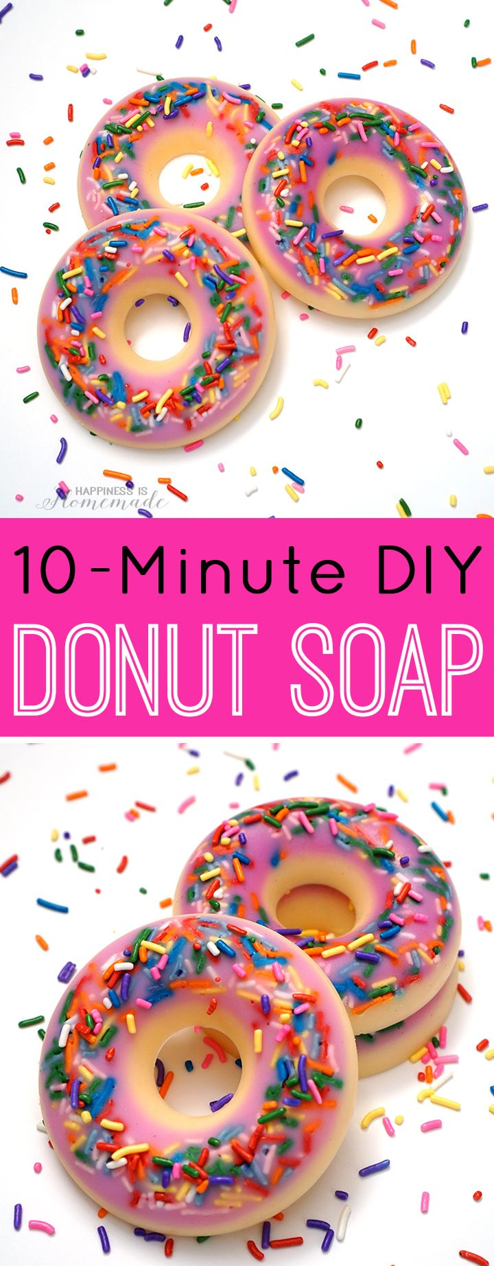 10 Minute DIY Donut Scented Soap                                                ...