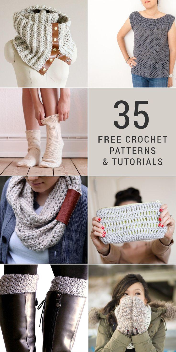 35-free-diy-crochet-patterns-and-tutorials