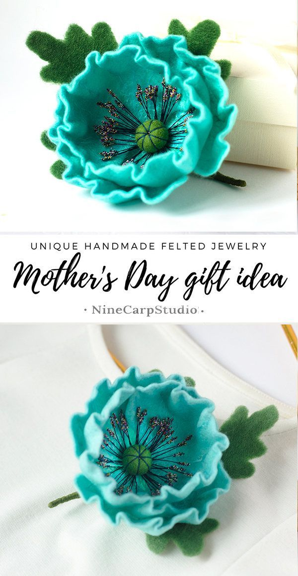 Diy Crafts Awesome Mother S Day Gift Idea Handmade Blue Flower