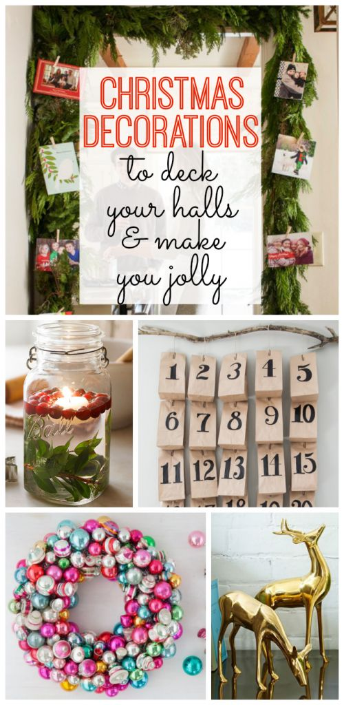 Brighten Your Home For The Holidays With These Beautiful DIY Christmas Decoratio